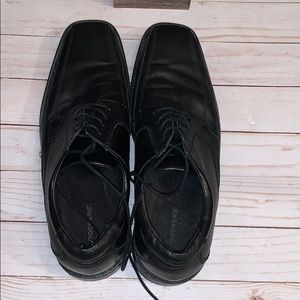 Other - Dockers Black Leather Men's Shoes 10.5